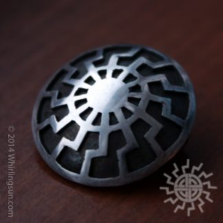 Black Sun Schwartze Sonne pin