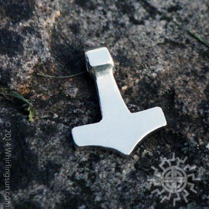 SMall Silver Mjolnir