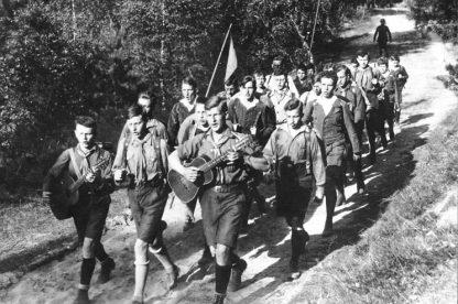 Wandervogel hike circa 1930