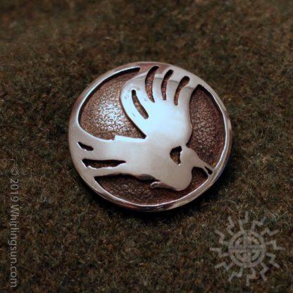 Wandervogel silver pin